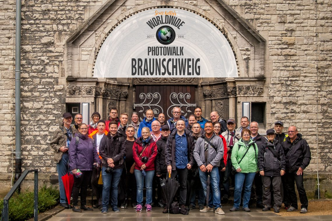 Worldwide Photo Walk 2016 Braunschweig Gruppenfoto