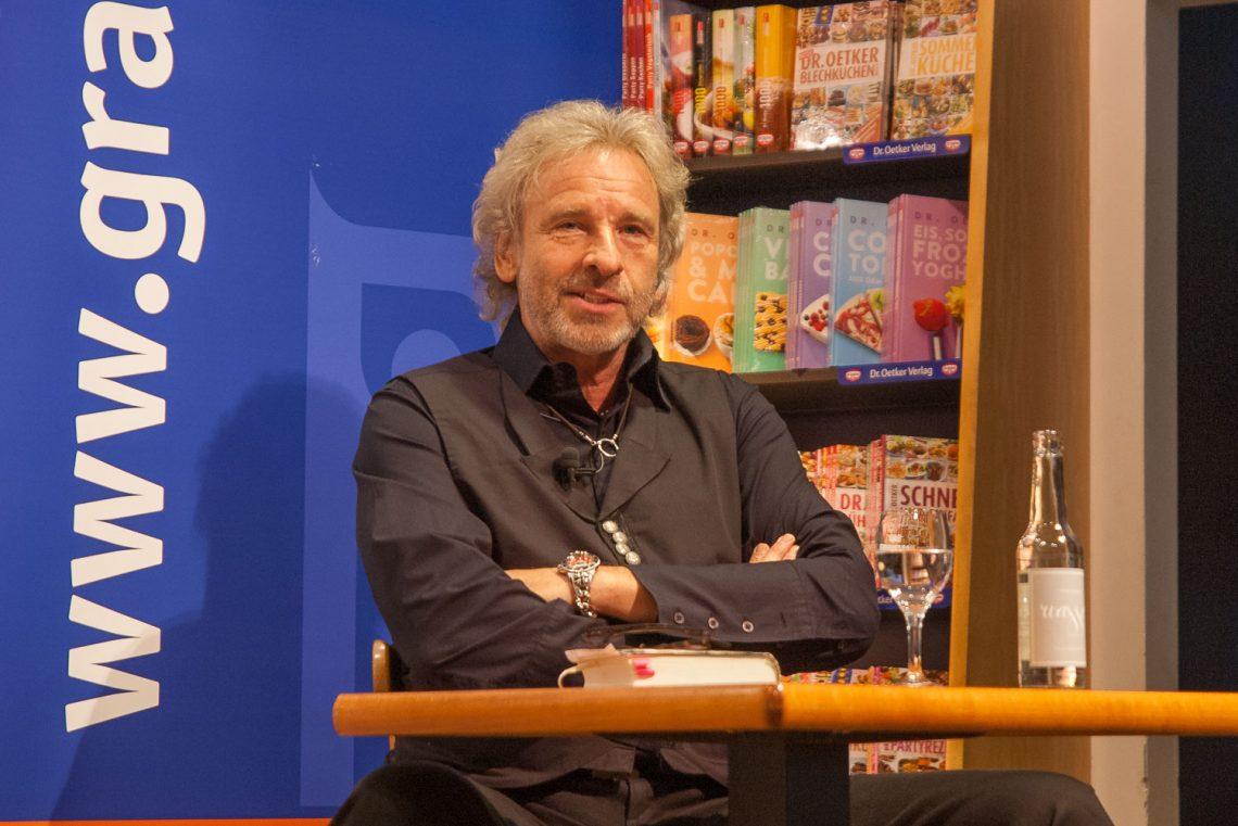Thomas Gottschalk in der Buchhandlung Graff in Braunschweig