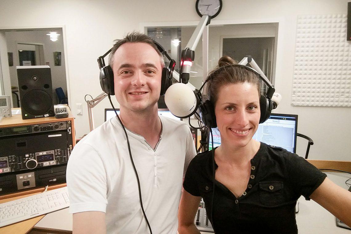 Stefanie Krause und Markus Hörster bei Radio Okerwelle in Braunschweig