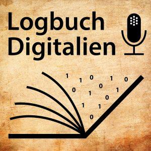 Cover Podcast Logbuch Digitalien