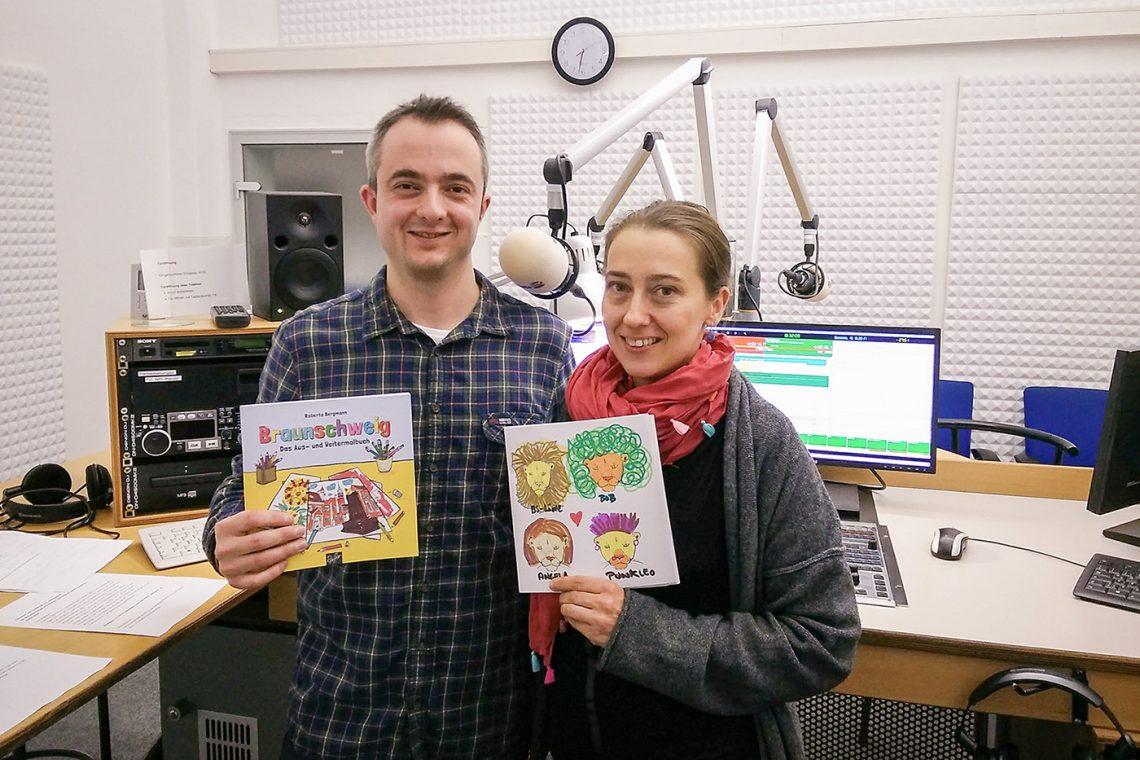 Markus Hörster mit Roberta Bergmann