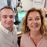 Markus Hörster und Bettina Tietjen bei Radio Okerwelle