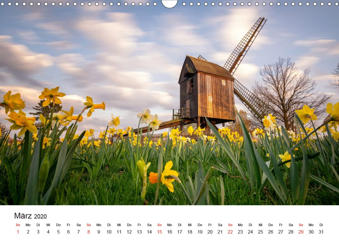 Braunschweig Kalender 2020 März Markus Hörster
