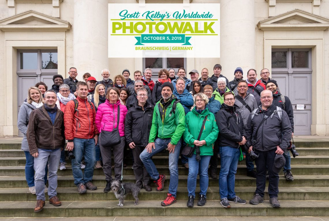 Gruppenfoto Worldwide Photo Walk 2019 in Braunschweig