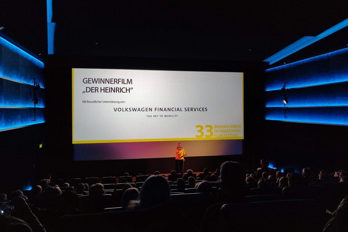 Astor Braunschweig beim Internationalen Filmfestival Braunschweig 2019