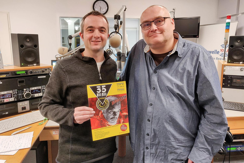 Markus Hörster und Clemens Williges vom Internationalen Filmfestival Braunschweig