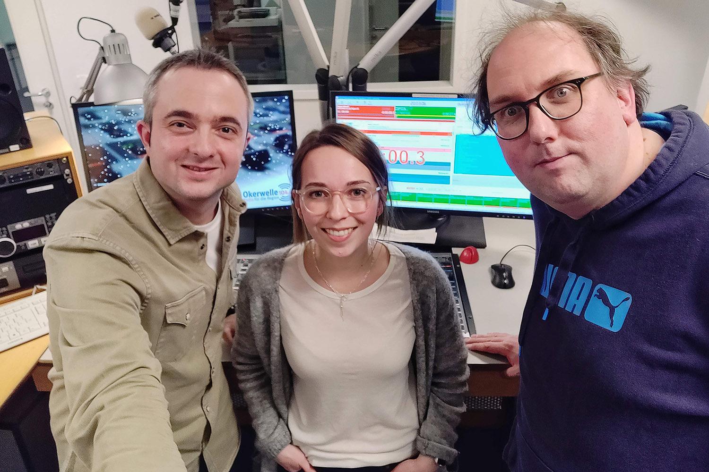 Markus Hörster, Theresa Zimmer und Christian Cordes nach Logbuch Digitalien Episode 37