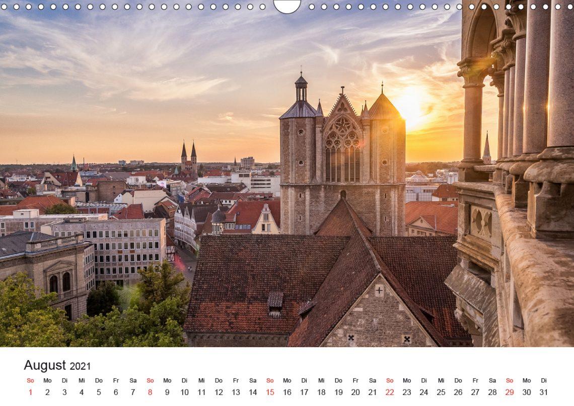 Braunschweig Kalender 2021 August Markus Hörster Fotograf Fotografie