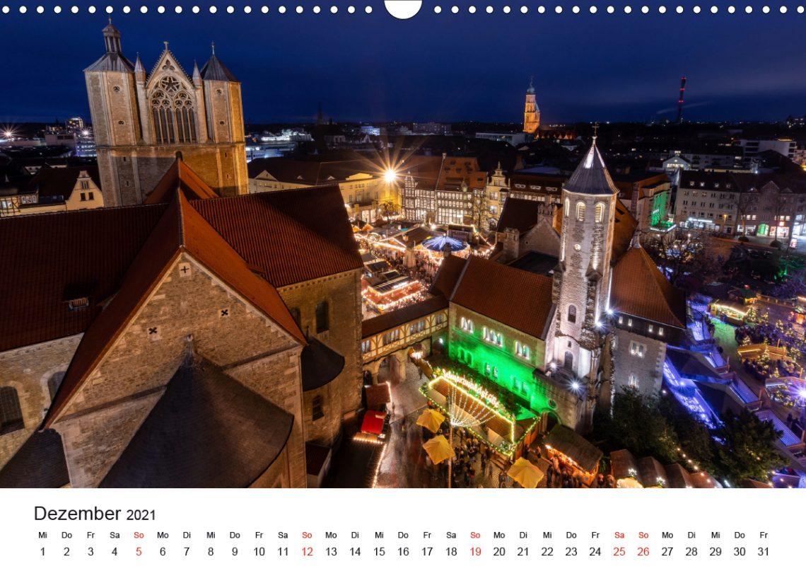 Braunschweig Kalender 2021 Dezember Markus Hörster Fotograf Fotografie